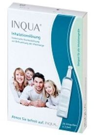 INQUA® Inhalationslösung, 20 Ampullen à 2,5 ml
