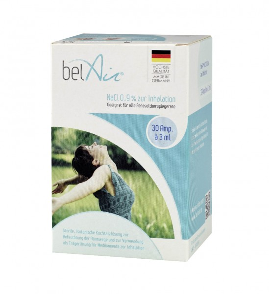 belAir® NaCl 0,9% zur Inhalation, 3 ml